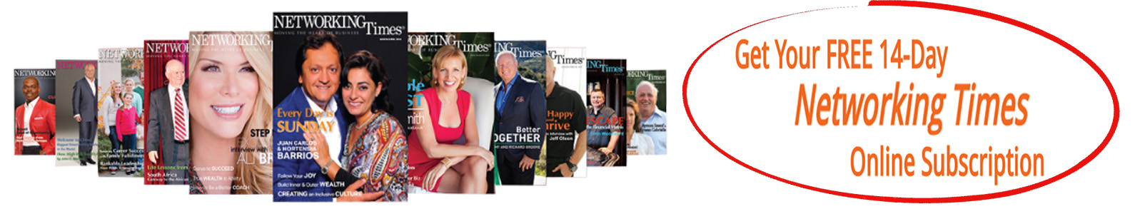 Get Your FREE 14-Day Networking Times Subscription
